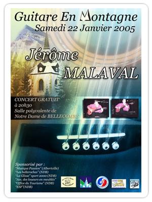 Affiche GEM 2004